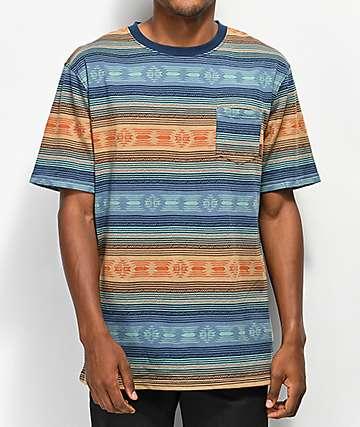 Dravus Forest camiseta de punto a rayas