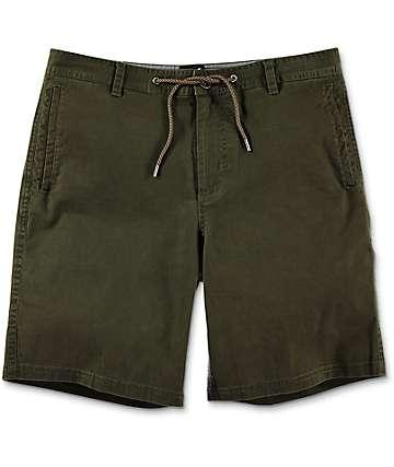 Dravus Gavin Olive Chino Shorts