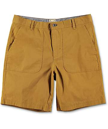 Dravus Hunter shorts chinos en color tabaco