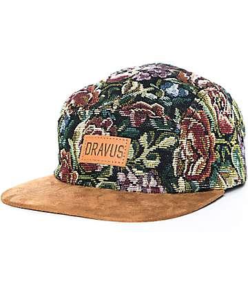 Dravus Interwingled gorra strapback floral