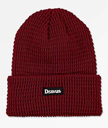Dravus Leary Jester Red Beanie