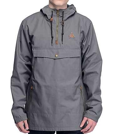 Dravus Limits chaqueta anorak en color carbón