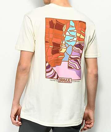 Dravus Lost Canyon Cream T-Shirt