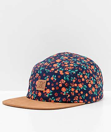 Dravus Love Seat Navy Five Panel Hat