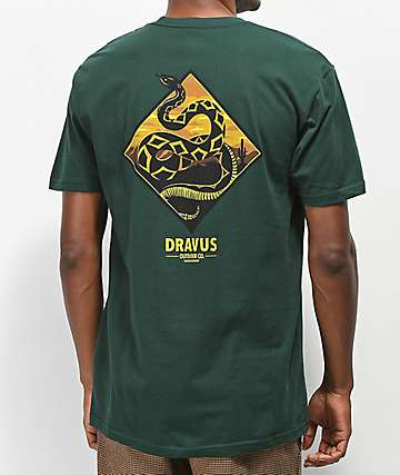 Dravus Mags Rattler camiseta verde