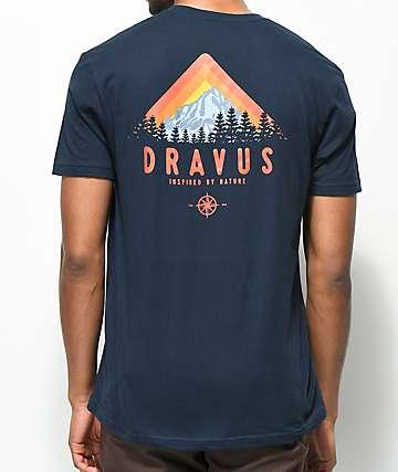Dravus Matterhorn Navy T-Shirt