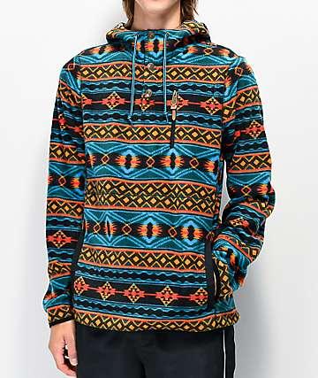 Dravus McKinnley Black & Blue Tech Fleece