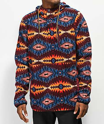 Dravus Mckinnley Tribal Tech Fleece