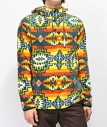 Dravus Mckinnley Yellow Tribal Tech Fleece