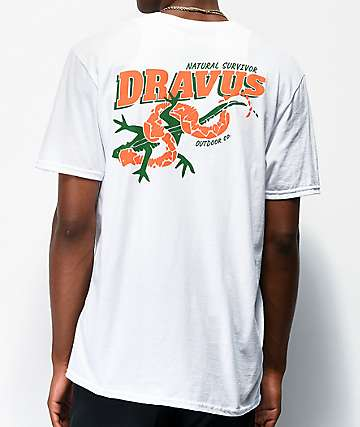 Dravus Natural Survivor White T-Shirt