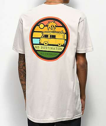 Dravus No Destinations Cream T-Shirt