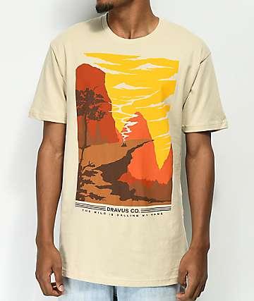 Dravus No Mans Land camiseta beige