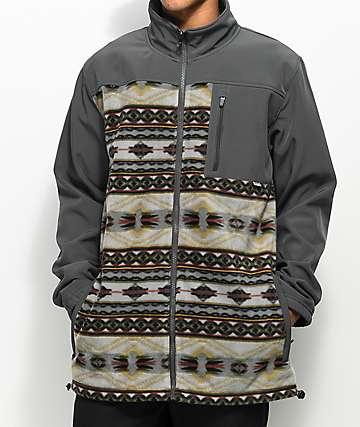 Dravus Northern Zip Up Tech Fleece Jacket