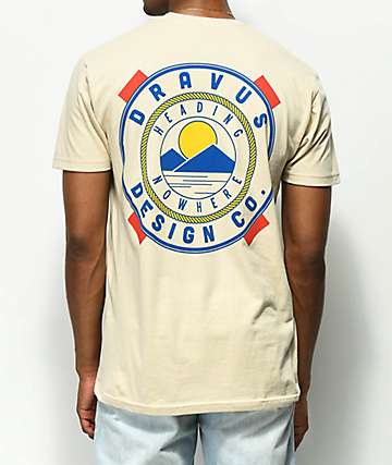 Dravus On The Bay Cream T-Shirt