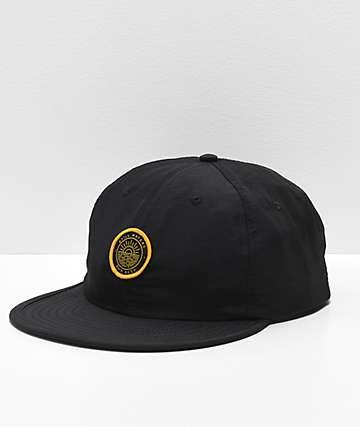 Dravus Packer gorra negra