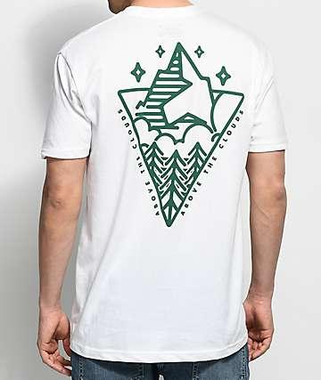 Dravus Peaks & Pines White T-Shirt