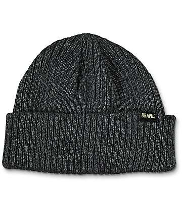 Dravus Short Stack Grey Beanie