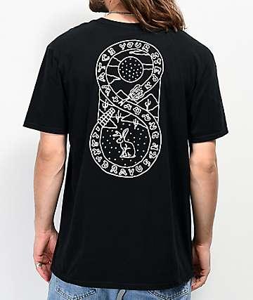 Dravus Snakestep Black T-Shirt