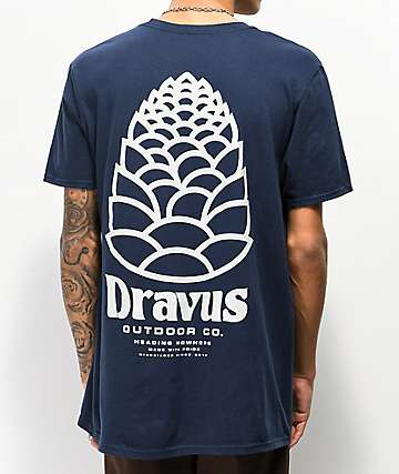 Dravus Sprout Navy T-Shirt