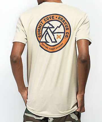 Dravus Summit Cove Natural T-Shirt