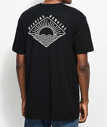 Dravus Sundown Black T-Shirt