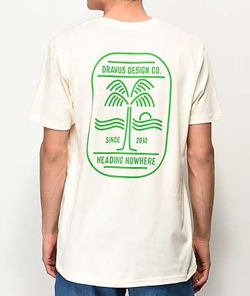 Dravus Surf Patrol camiseta blanquecina