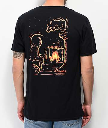 Dravus Wicked Summer Black T-Shirt