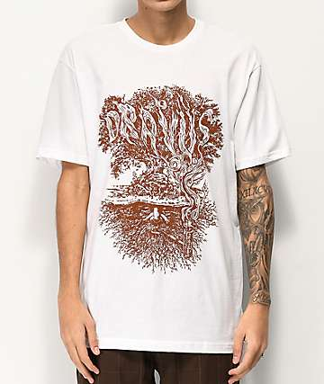 Dravus Winter Tree White T-Shirt