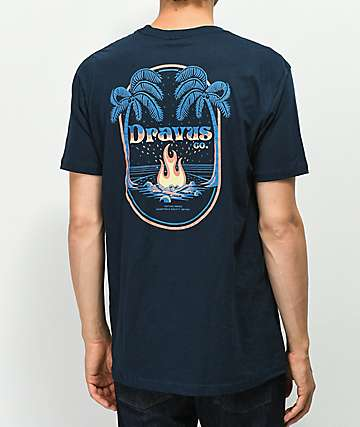 Dravus Worcation Navy T-Shirt