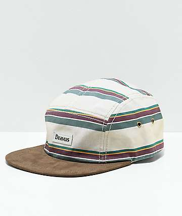 Dravus Yosemite Khaki 5 Panel Hat