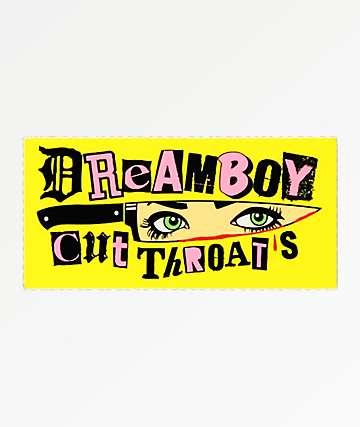 Dreamboy Cut Throats Sticker