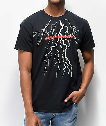 Dreamboy Lightning Black T-Shirt