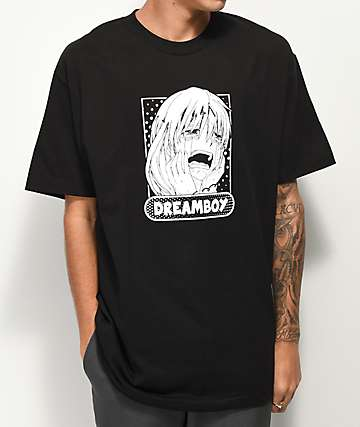 Dreamboy Logo Black T-Shirt