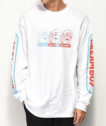 Dreamboy RGB Logo camiseta blanca de manga larga
