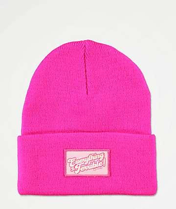 Dreamboy Terrible Pink Beanie