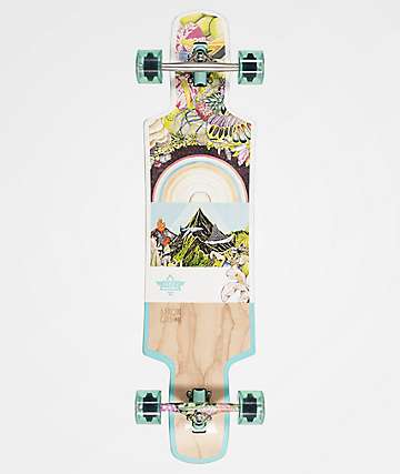 "Dusters Biome 38.5"" Drop Through Longboard Complete"