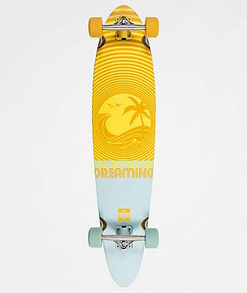 "Dusters California Dreaming 40"" Pintail Longboard Complete"