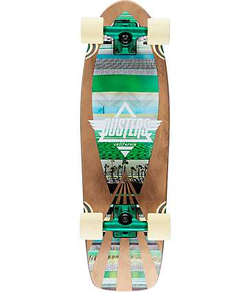 """Dusters Cazh Tribe 28.5"""" tabla de skate cruiser completo"""