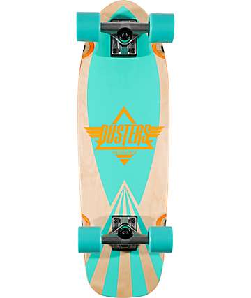 """Dusters Cazh Turquoise 27""""  Complete Cruiser Skateboard"""