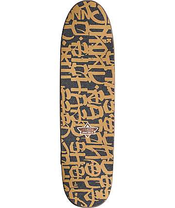 """Dusters Chaz California Locos Gold 31.89"""" Cruiser Complete Skateboard"""