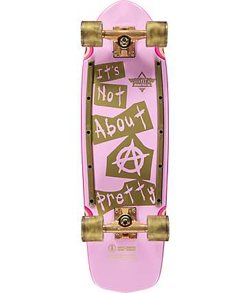 """Dusters Cindy Inap 29""""  skateboard cruiser completo"""
