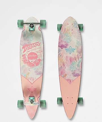 "Dusters Cruisin Kelp 37"" longboard completo rosa"