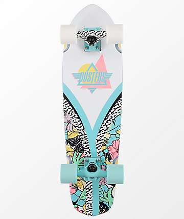 "Dusters Flashback Jiggy 28"" Cruiser Complete Skateboard"