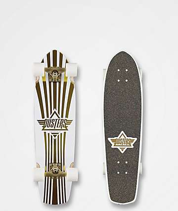 "Dusters Keen Prism White 31"" Cruiser Complete"