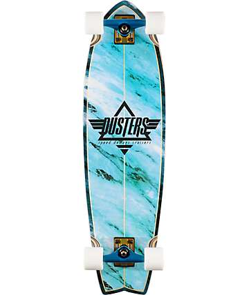 """Dusters Kosher Blue 32.5""""  Complete Cruiser Board"""