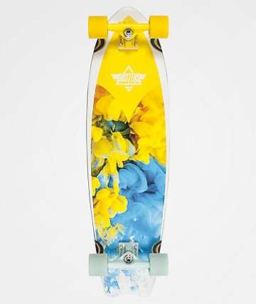 """Dusters Kosher Retro 33"""" Cruiser Complete Skateboard"""