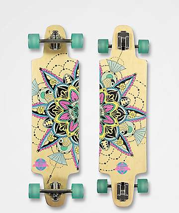 "Dusters Vida 36"" Drop Through Longboard Complete"