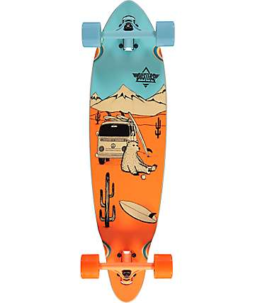 "Dusters Wagon 33"" Drop Through Longboard Complete"