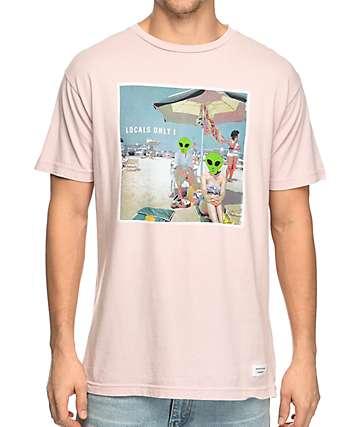 Duvin Design Locals Only! Pink T-Shirt