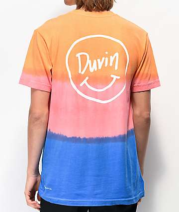 Duvin Smile  Orange Tie Dye T-Shirt